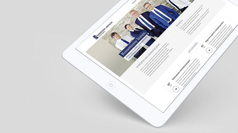 Realizacja strony internetowej dla kancelarii prawnej Babiaczyk, Skrocki iWspólnicy