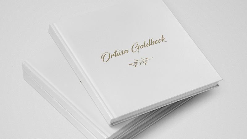 Album okolicznościowy Ortwin Goldbeck