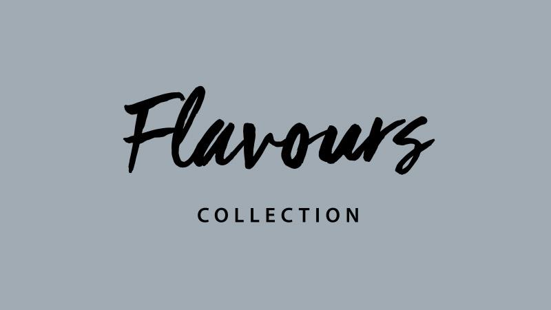 Kadr tytułowy zespotu reklamowego Flavours