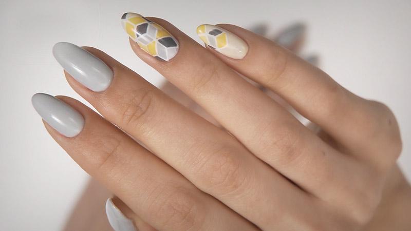Stylizacja paznokci ztutoriala Semilac Flavours