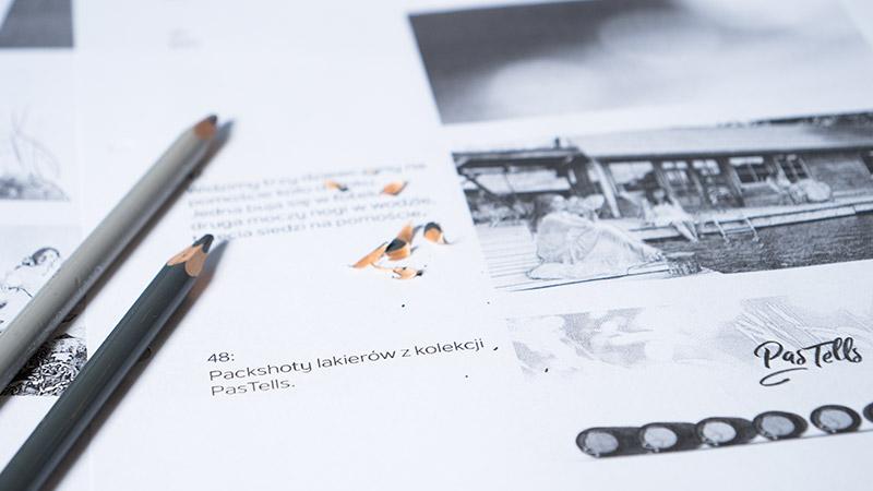 Storyboard filmu reklamowego PasTells