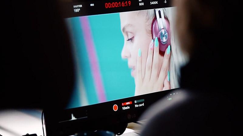 Plan zdjęciowy spotu reklamowego SemiBeats byMargaret