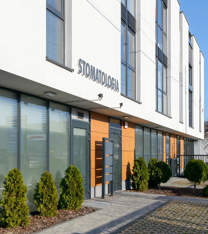 Budynek gabinetów lekarskich Trójpole 7