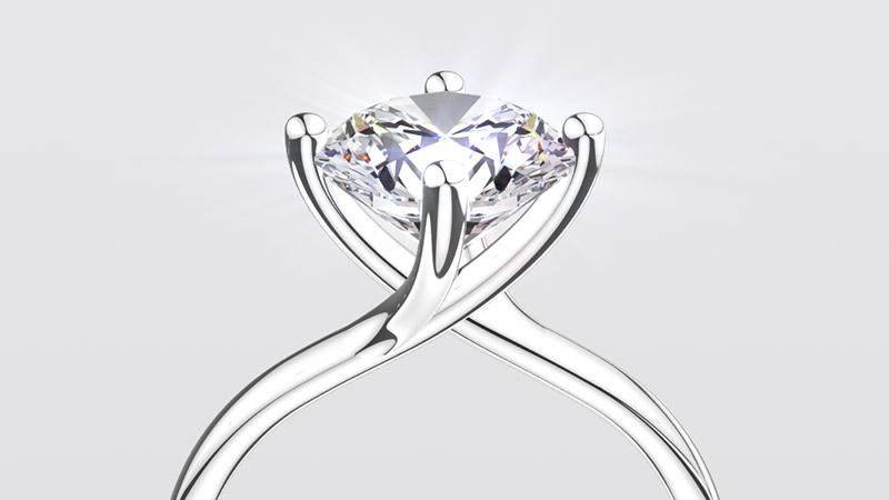 Animacja 3D pierścionek YES Valentine